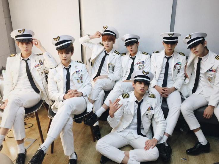 韓国の男性なら、誰もがいく軍隊。BTSも例外ではない