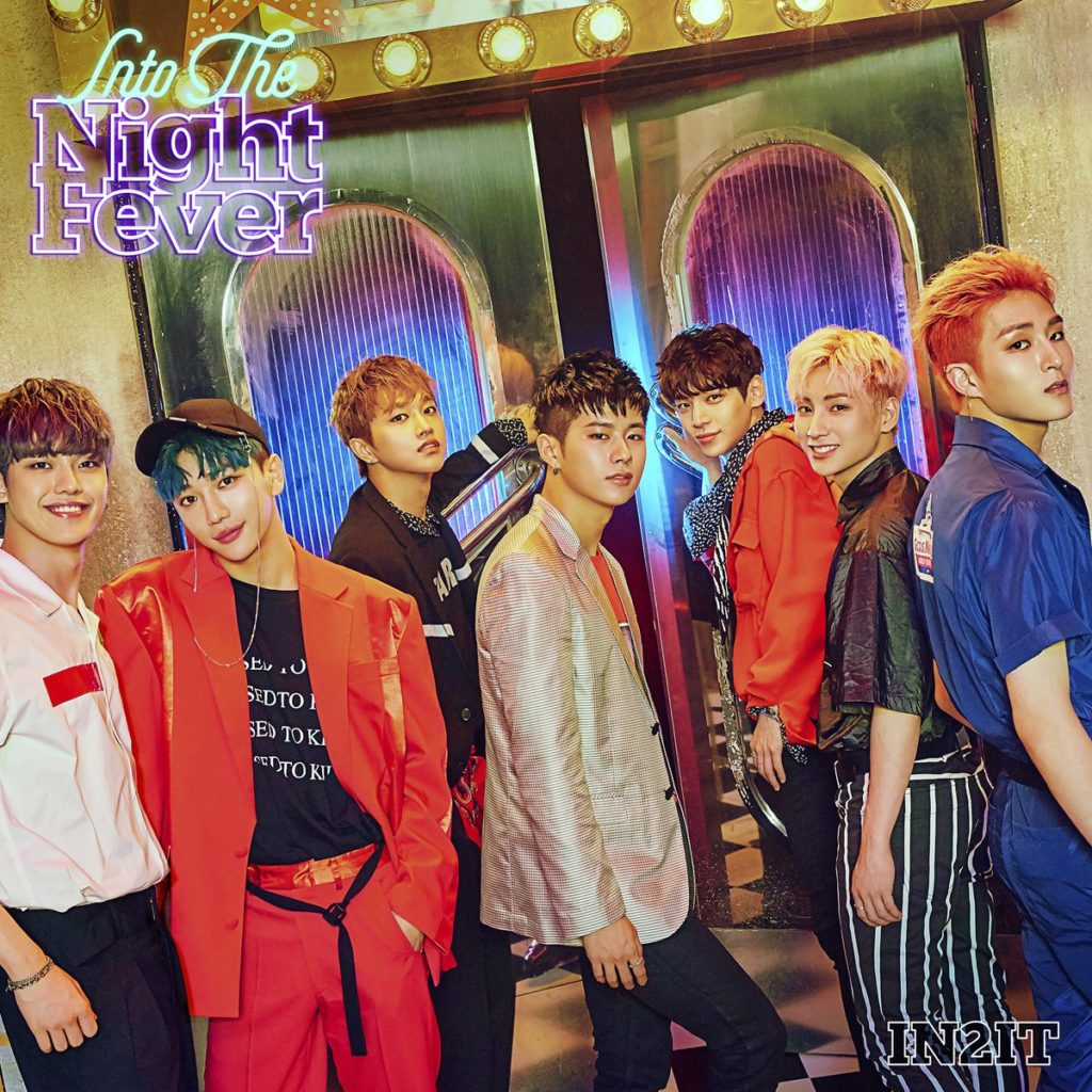 IN2IT 2ndシングル「Into The Night Fever」コンセプトイメージ