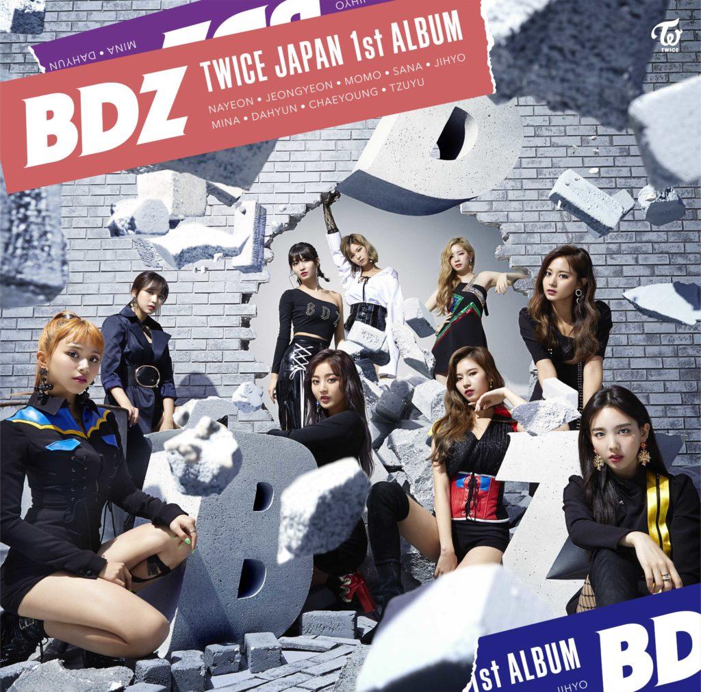 TWICETWICEの日本初フルアルバム「BDZ」