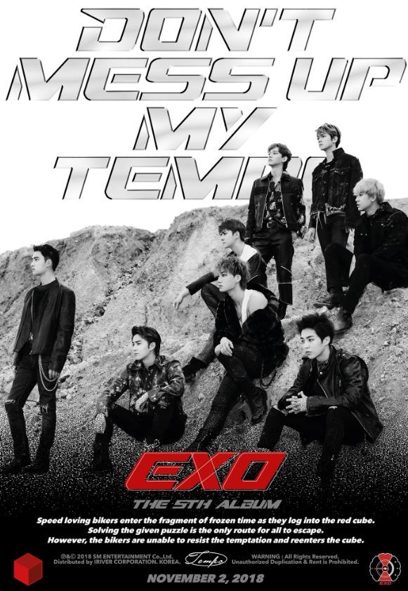 新曲「Tempo」でカムバックする EXO