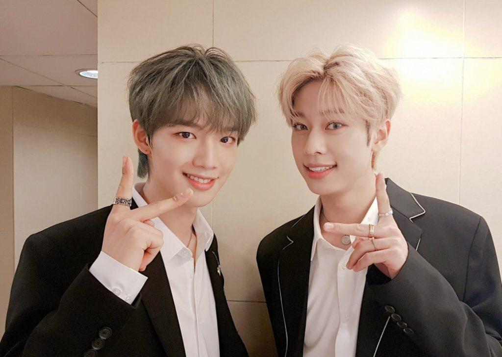 MXMのメンバー ヨンミンとドンヒョン