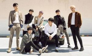 人気アイドルグループ iKON