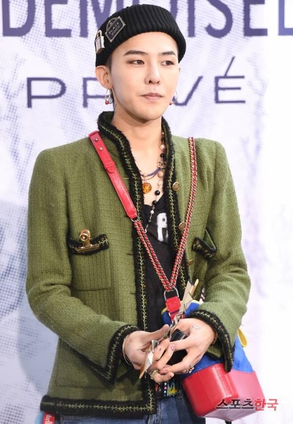 兵役中,特別扱いを受けたとの疑惑が浮上したBIGBANG G-DRAGON