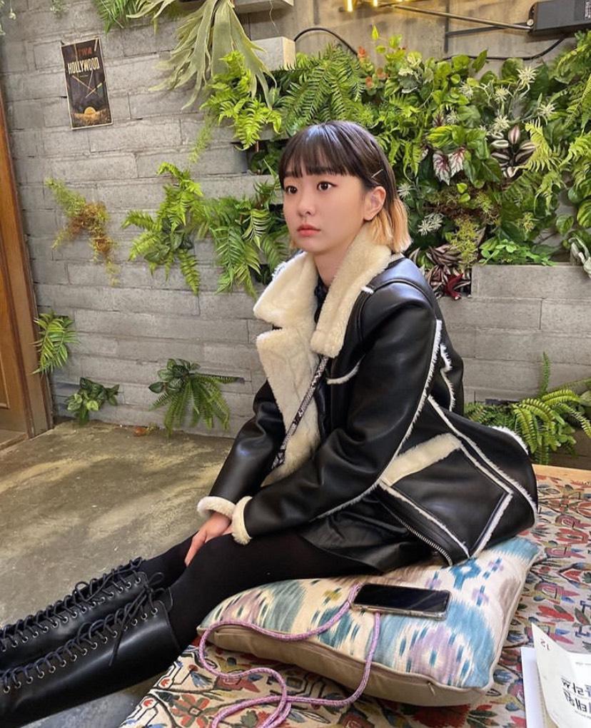 韓国で再び流行しているぱっつん前髪