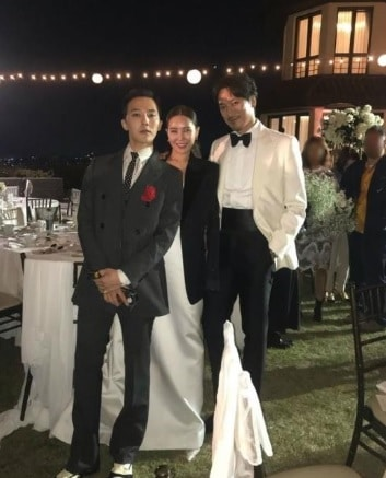 G-DRAGONとキムミンジュン夫婦