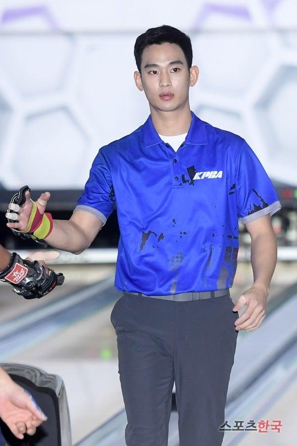 韓国プロボーラー選抜大会に出場したキムスヒョン