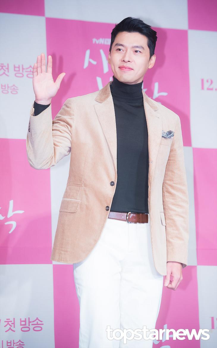 『愛の不時着』でリ・ジョンヒョク役を演じたヒョビン