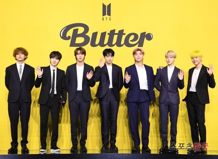 BTS『Butter』1位