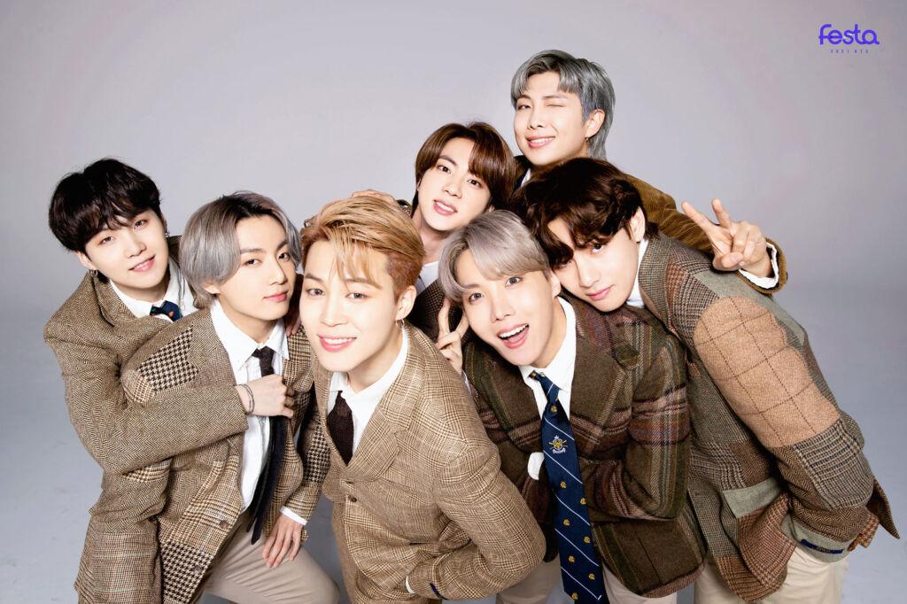 BTSは7人組ボーイズグループ