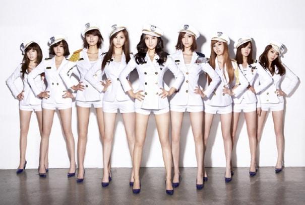 8人組ガールズグループ少女時代